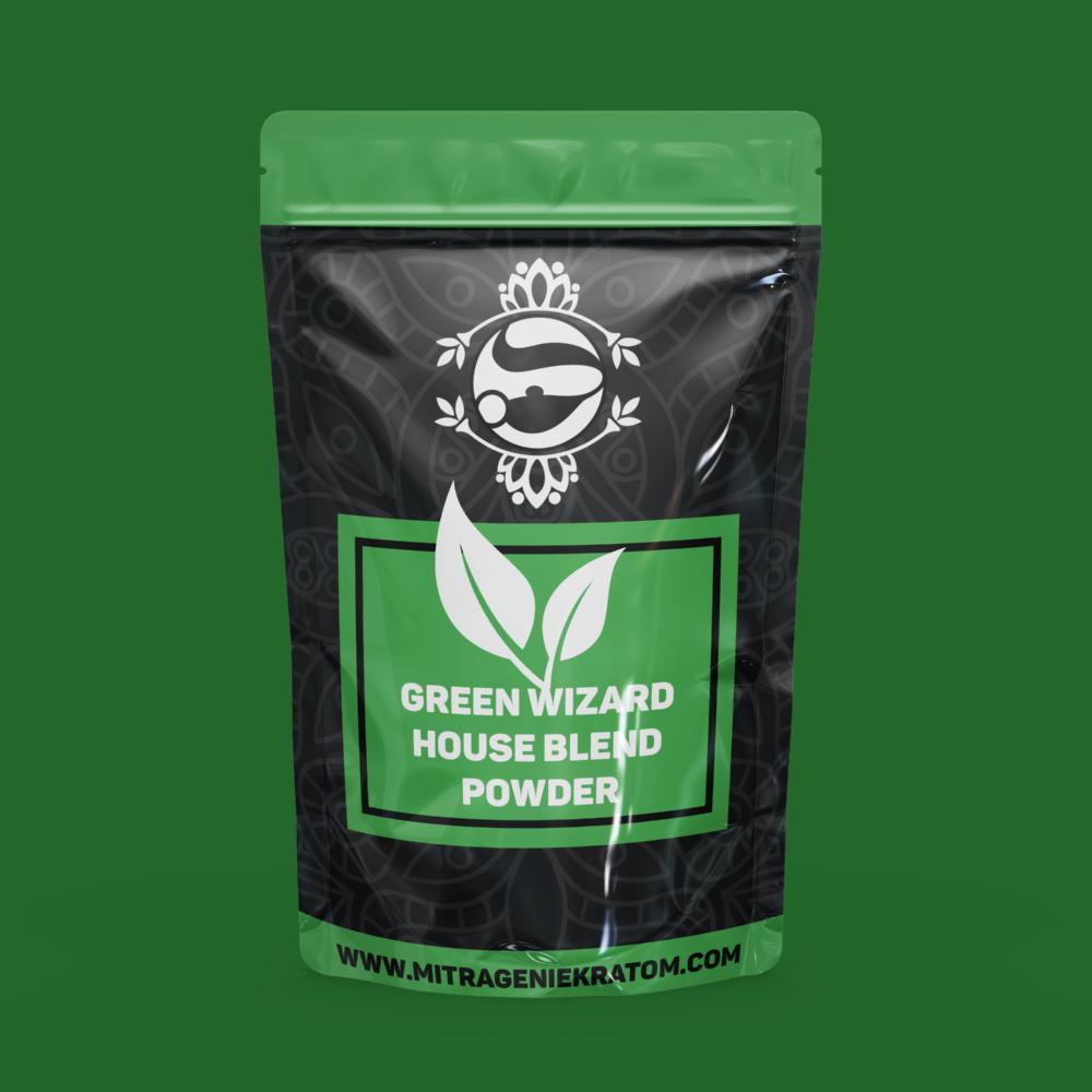 Green Wizard House Blend Powder