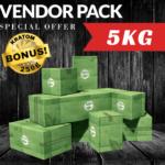 5KG Vendor Pack